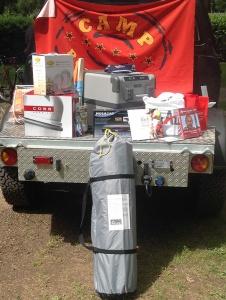 Die Sachpreise der Camp Roadshow 2015