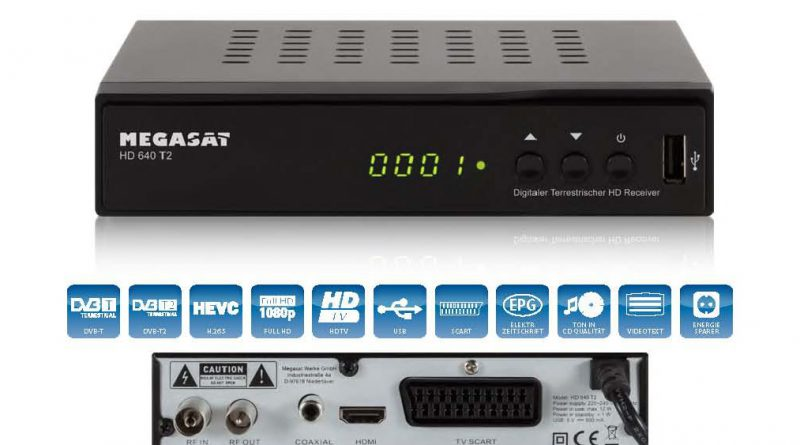 Megasat HD 640 T2-1