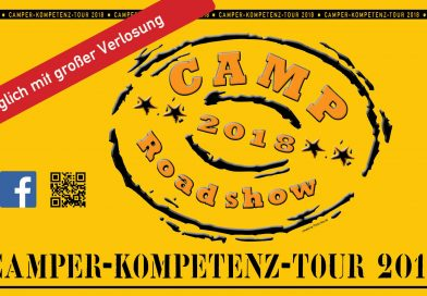Das Camp Roadshow Plakat 2018
