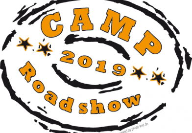 Camp Roadshow 2019 –  Der Tourplan